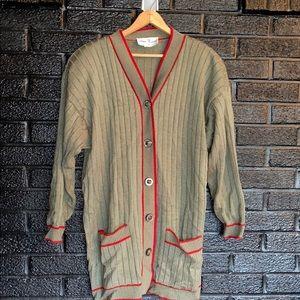 Vintage cardigan size extra large (18)